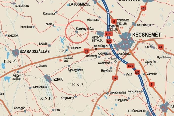 kerekegyháza térkép Untitled Document kerekegyháza térkép